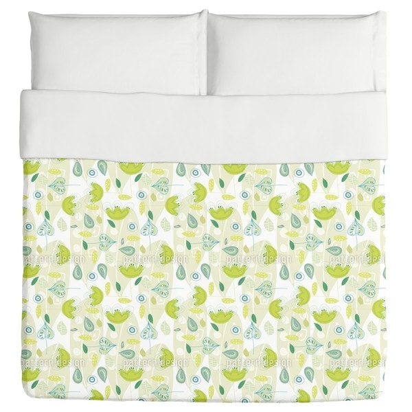 Yellow Dance Duvet