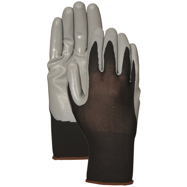 Atlas Glove C3701L Gray Nitrile Palm Gloves