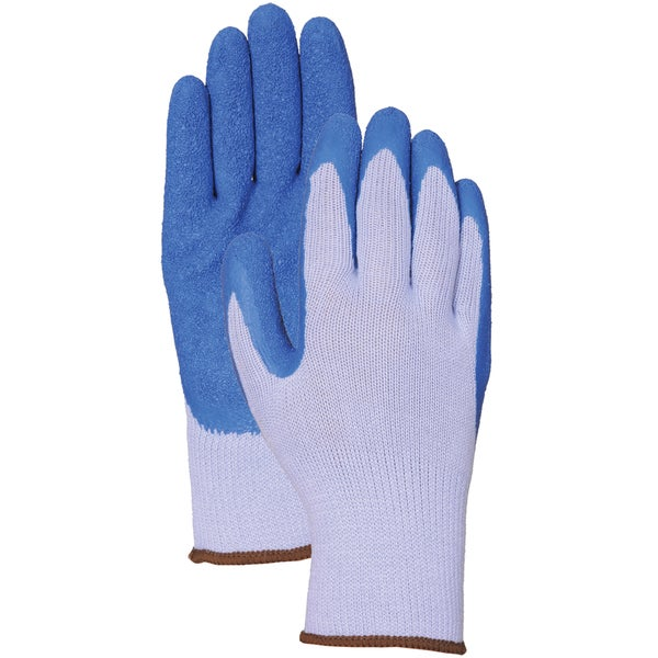 Bellingham Glove C302L Blue Latex Palm Gloves