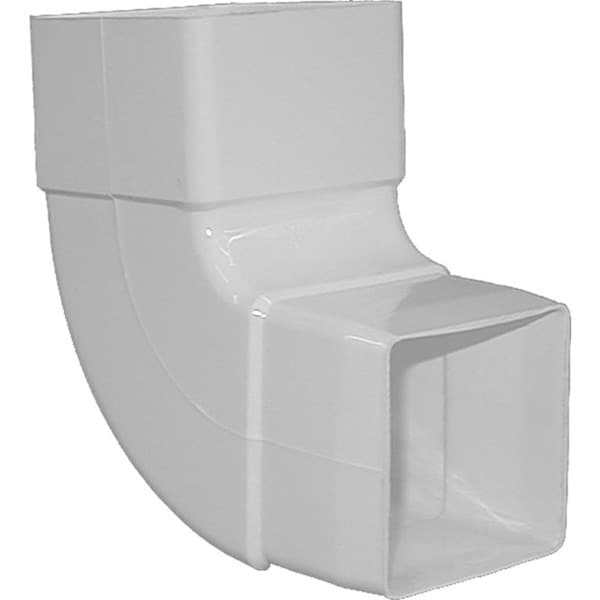 Raingo RW209 White 90-degree Downspout Elbow