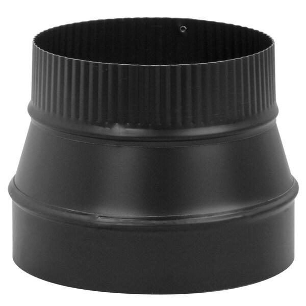 "Imperial Manufacturing Group BM0080 7"" X 6"" Black Matte Reducer"