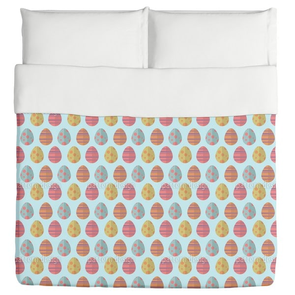 Colorful Easter Eggs Duvet
