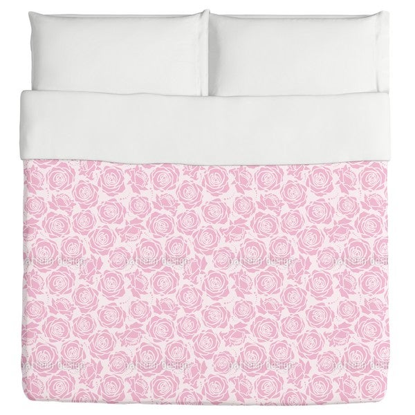 Rose Blossoms Lilac Duvet