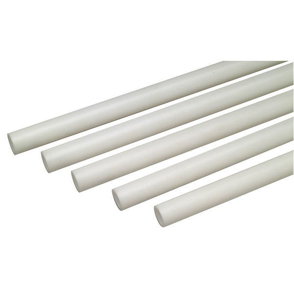 "Zurn Pex QB5PS10X 1"" X 10' White ZurnPex Non-Barrier Straight Tubing"