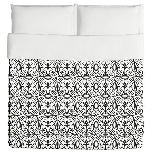 Loretta Black White Duvet