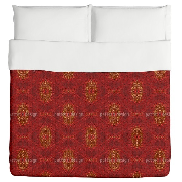 Eye of Fire Duvet
