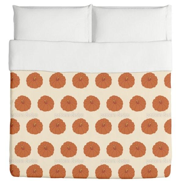 Decorative Gourd Orange Duvet