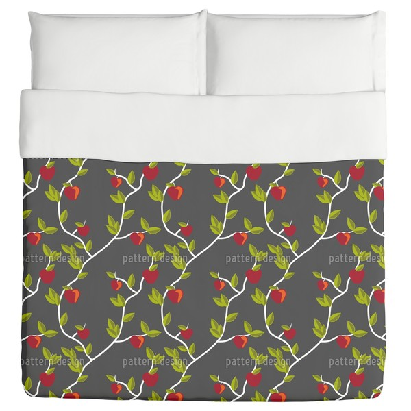 Garden of Eden Grey Duvet
