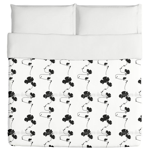 Shadow Play White Duvet