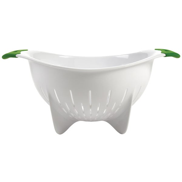 Oxo 2160900 4 Quart Colander With Green Handle