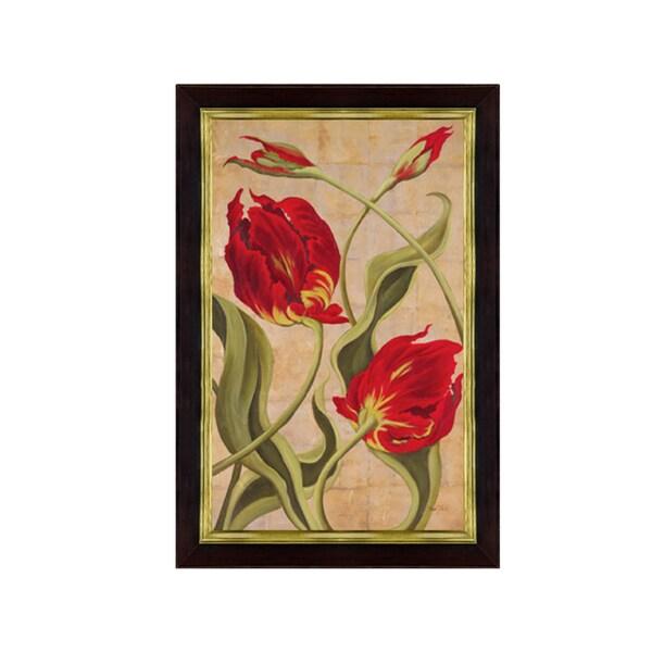 Brian O'Neill-Tulip Tango II Framed Art