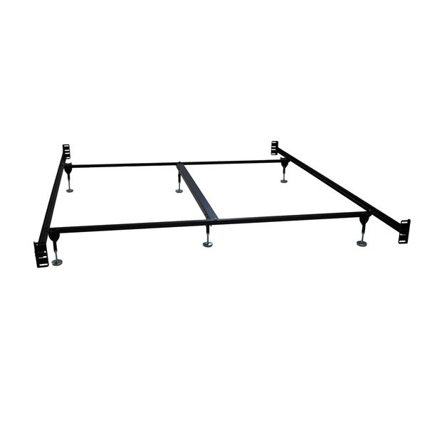 Black Metal California King Bed Frame