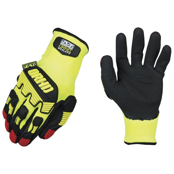 Mechanix Wear KHD-GP-009 Hi-Viz Yellow ORHD Knit Utility Gloves