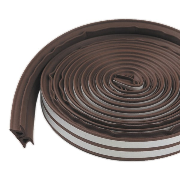 M-D 43848 17' Brown Door & Window Thermal Blend Weatherseal