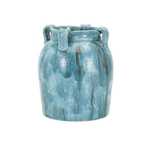 Castine Small Teal Vase