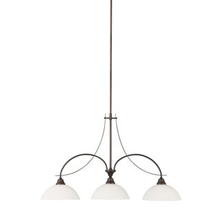 Feiss Boulevard 3 Light Oil Rubbed Bronze Chandelier
