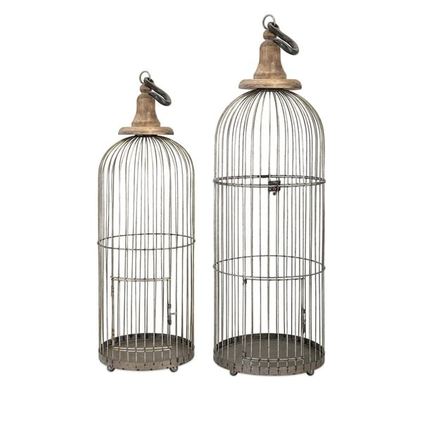 Lenore Bird Cages (Set of 2)