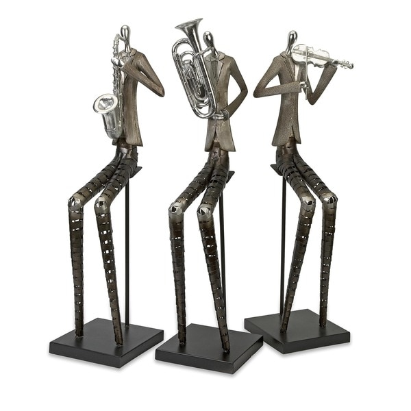 Sinatra Jazz Band Figures (Set of 3)
