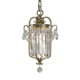 Feiss Gianna 1 Light Gilded Silver Chandelier