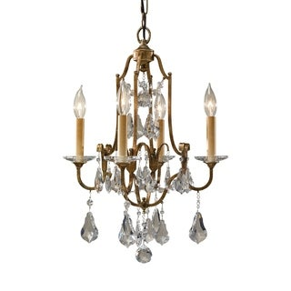 Feiss Valentina 4 Light Oxidized Bronze Chandelier