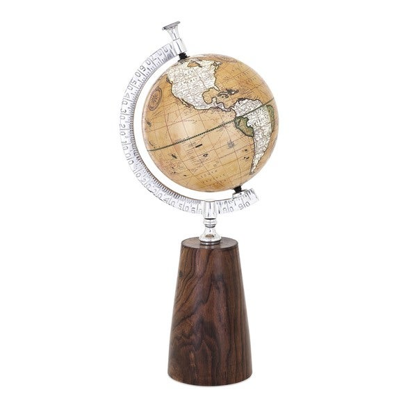 Jenson Wood Base Globe