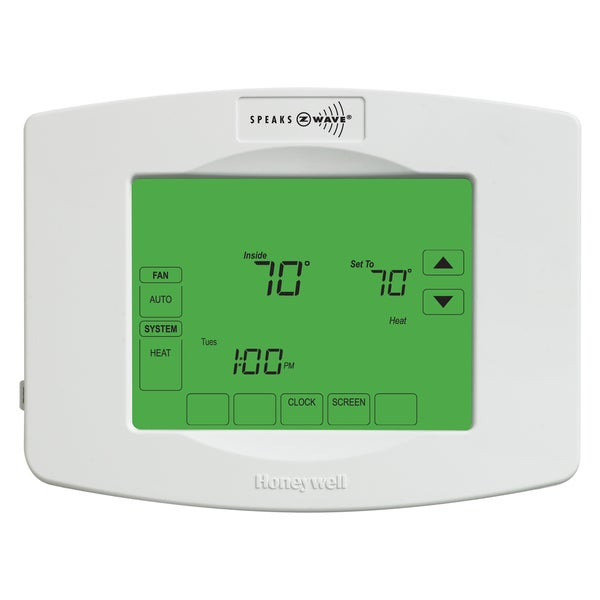 Honeywell YTH8320ZW1007 Z-Wave Touchscreen Programmable Thermostat