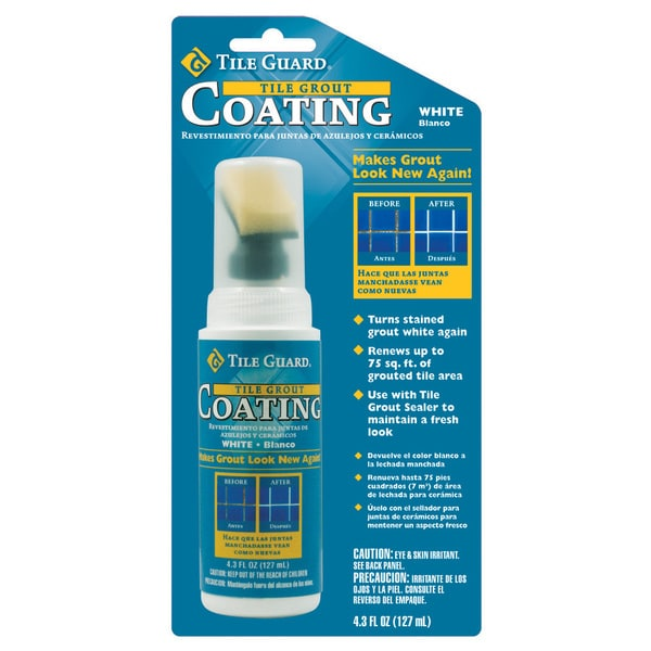 Tile Guard 9310 4.3 Oz White Tile Grout Coating With Applicator