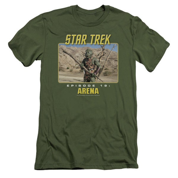 St Original/Arena Short Sleeve Adult T-Shirt 30/1 in Military Green
