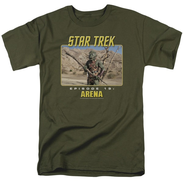 St Original/Arena Short Sleeve Adult T-Shirt 18/1 in Military Green