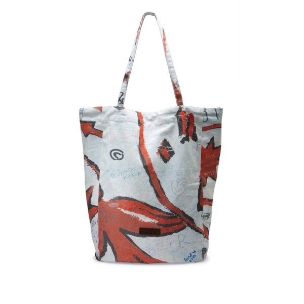 Liebeskind Berlin Rita Multicolor Cotton Tote Bag