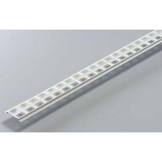 Norwesco 556019 8' White Aluminum Vented Continuous Soffit