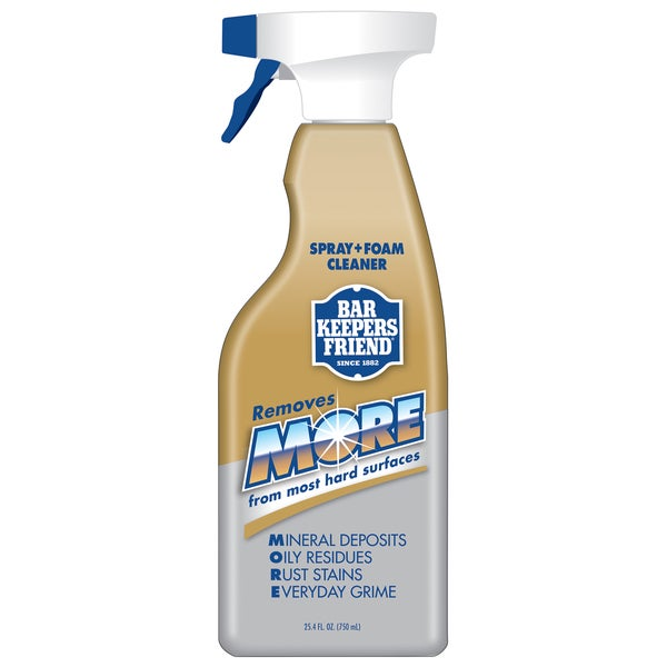 Bar Keepers Friend 11727 25.4 Oz More Spray & Foam Cleaner