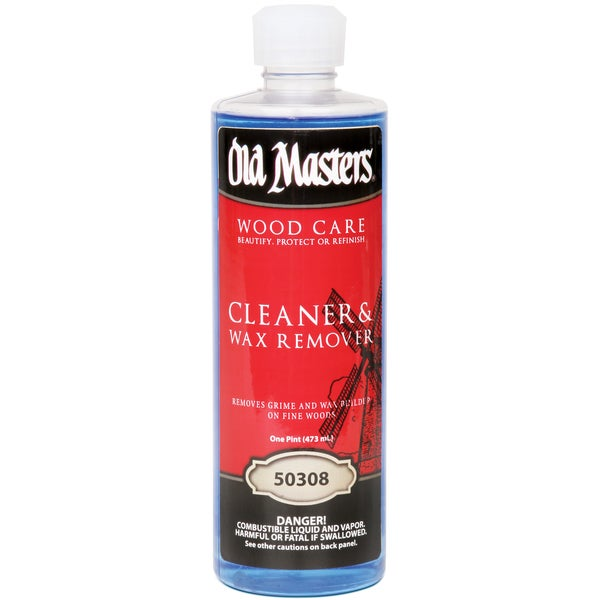 Old Masters 50308 1 Pint Cleaner & Wax Remover
