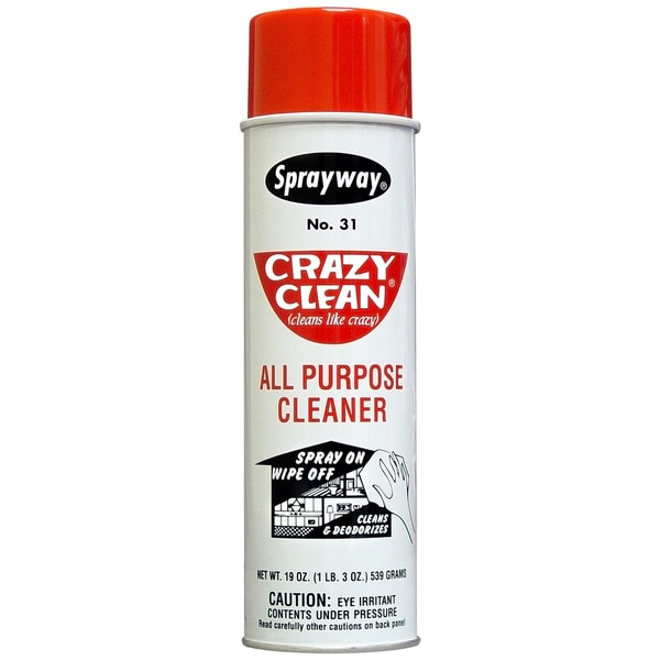Sprayway SW031 20 Oz Crazy Clean All Purpose Cleaner