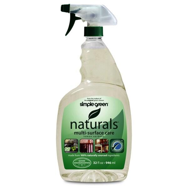 Simple Green 3110000612300 32 Oz Lemon Verbena Naturals Multi Surface Care
