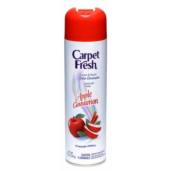Carpet Fresh 280174 10.5 Oz Apple Cinnamon Foam Carpet & Room Odor Eliminator