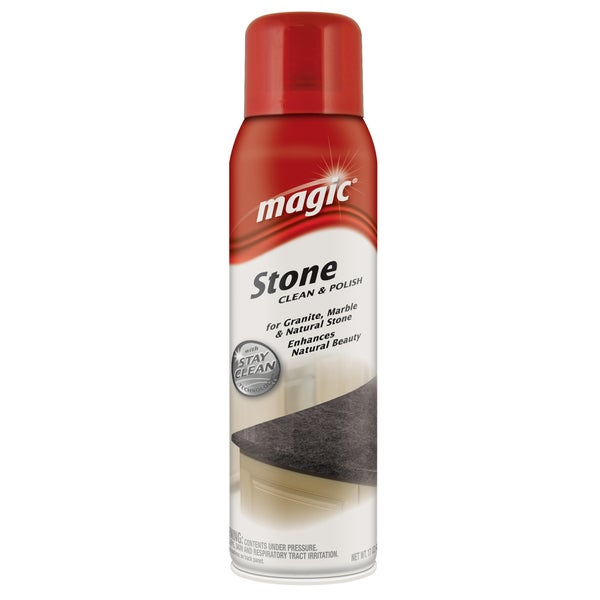 Magic 3051 17 Oz Stone Clean & Polish