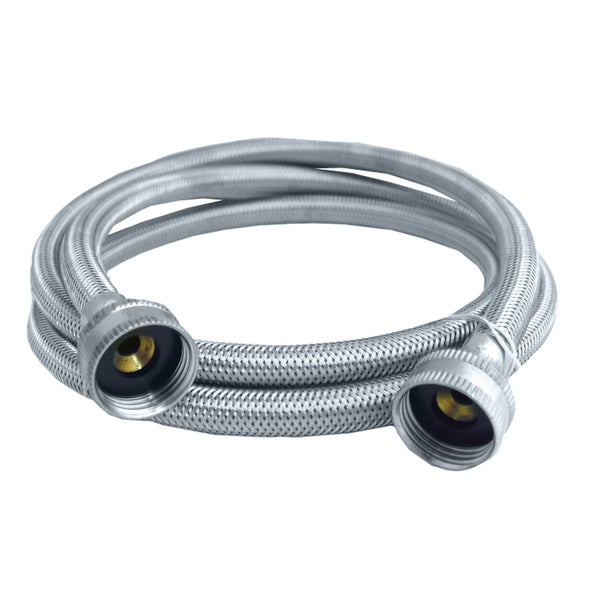 "Lasco 16-1804 3/4"" FHT x FHT X 4' Washing Machine Hose Connector"