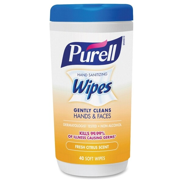 GOJO Purell Citrus Scent Hand Sanitizing Wipes