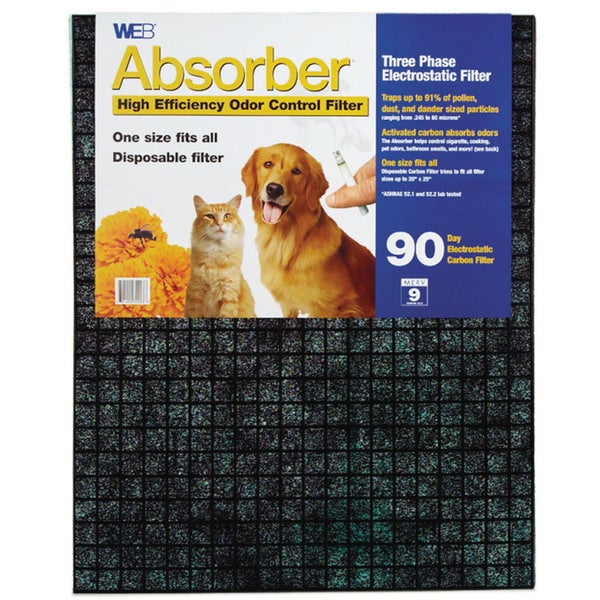 Web Products WABSORB-12PK Absorber High Efficiency Odor Control Filter