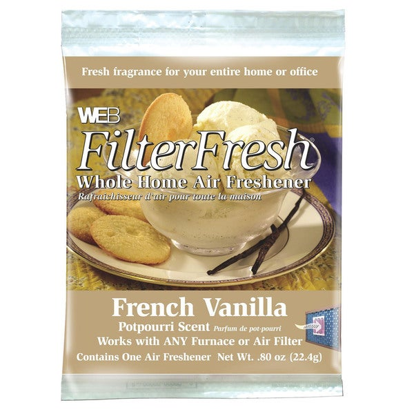 Web Products WVAN Vanilla Scent FilterFresh Whole Home Air Freshener