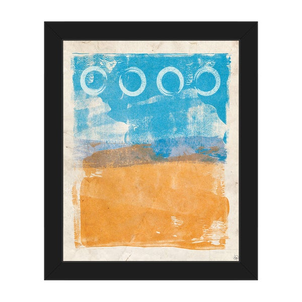 Things I See From Here' Framed Canvas Wall Art