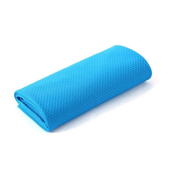 Etcbuys Blue Chilling Outdoor/Indoor Gym Fitness Sports Towel (Set of 2)