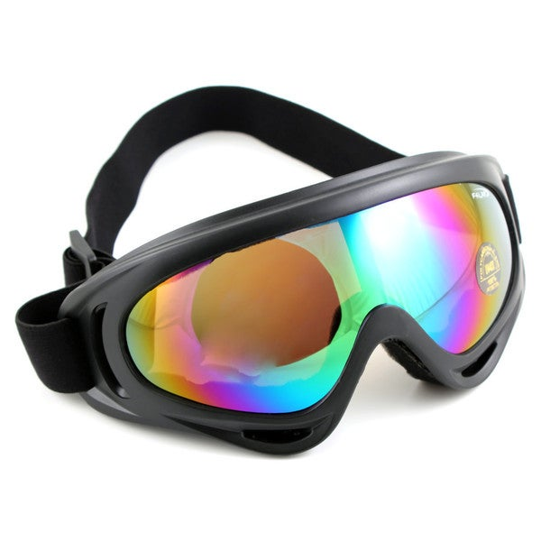 ETCBUYS UV400-protection Clear Vision Classic Design Outdoor Sports Goggles