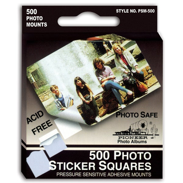 Pioneer Photo Albums PSM500 Photo Album Sticker Squares 500-count