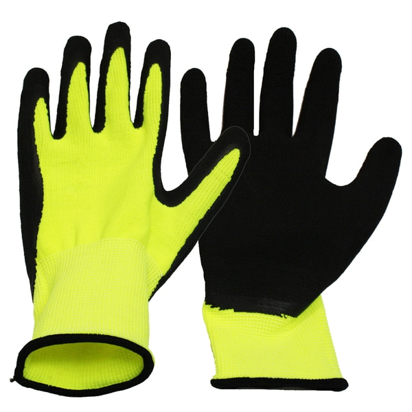 Boss Gloves 8412B Ladies Neon Knit Work Gloves