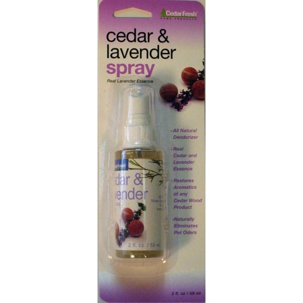 Cedar Fresh 84802 Cedar & Lavender Spray