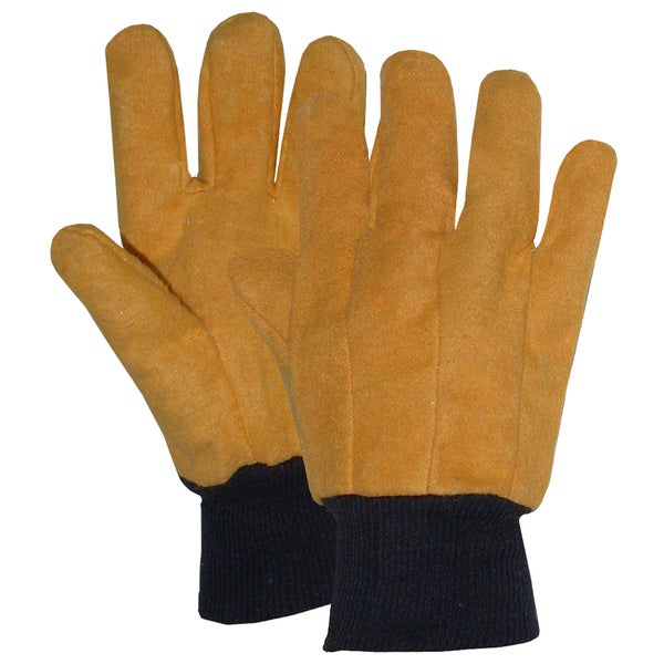Boss Gloves 4037 Large Yellow Chore Gloves