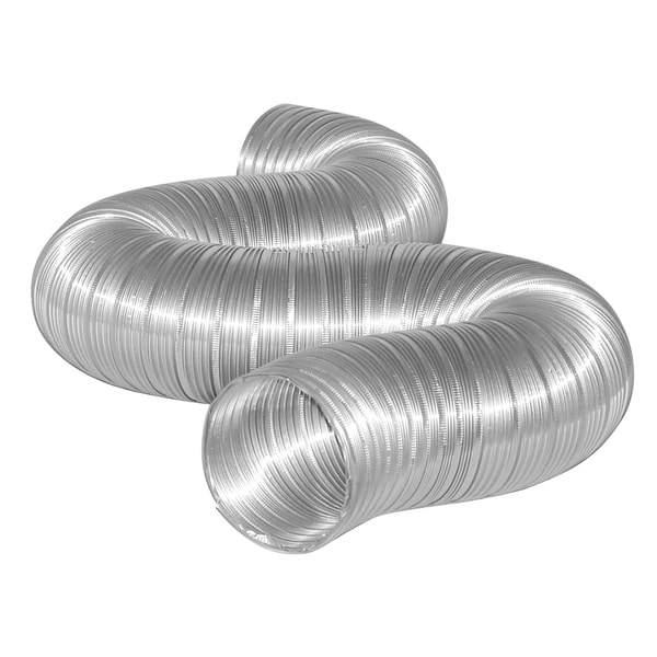 "Dundas Jafine MFX88X 8"" x 8' Flexible Aluminum Ducting 20463347"