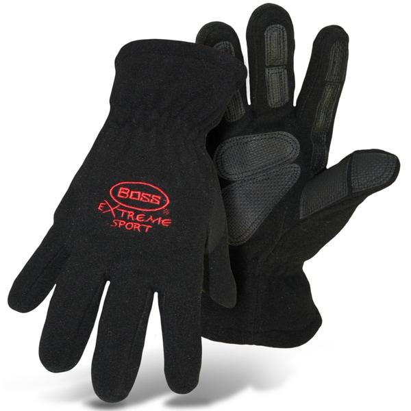 Boss Gloves 4420BL Large Black Boss Extreme Fleece Gloves